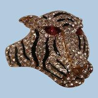 Bold outstanding Rhinestone Tiger Bracelet