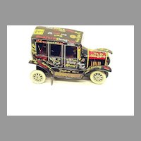 """MARX Lithographed Tin """"Old Jalopy"""" Toy Automobile"""