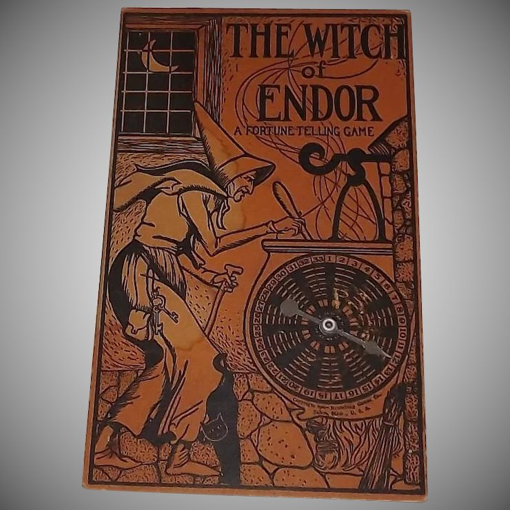 witch of endor fortune telling halloween game decoration naumkeag games co salem ma 1929
