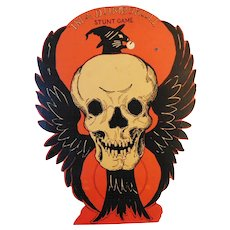 I'm a Dumb-skull Stunt Game Halloween decoration Beistle Company 1930-1931 Hard to find & Rare