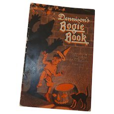 1923 Annual softcover Halloween edition Dennison's Bogie Book - collectible magazine