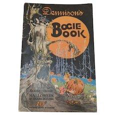 1924 Annual softcover Halloween edition Dennison's Bogie Book - collectible magazine
