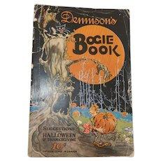 1924 Annual Halloween edition Dennison's softcover Bogie Book magazine Halloween collectible