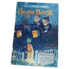 1925 Annual Halloween edition Dennison's Bogie Book Halloween collectible