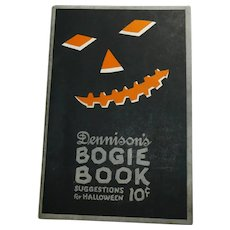 1922 Annual Edition Dennison's Bogie Book Halloween collectible excellent