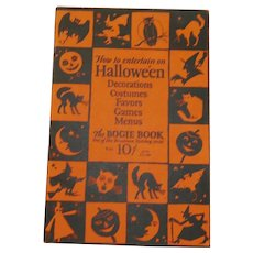 1926 softcover Halloween 14th Annual edition Dennison's Bogie Book - collectible magazine