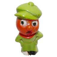 Vintage Halloween decoration – Composition figural - Veggie Tough Guy – Germany 1920s Rare