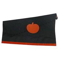 Crepe Paper Halloween Party Hat Orange Pumpkin die-cut Halloween Decoration