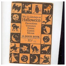 14th Annual Edition Dennison Bogie Book 1926 VG Excellent