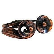 Beautiful Vintage Copper Hinge Bracelet