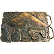 Vintage Coca-Cola 1975 Bergamot Brass Works Belt Buckle