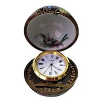 Vintage Limoges France Table Clock
