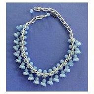Vintage Unique Glass Bead Necklace