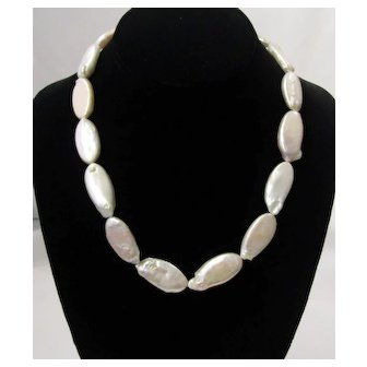 Vintage Mother Of Pearl Necklace
