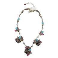 Vintage La Contessa Necklace By Mary Demarco