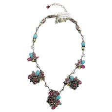 Vintage La Contessa Necklace By Mary Demarco