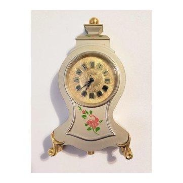 Vintage Manser Working Tabletop Clock