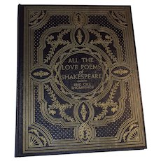 """1947 """"All the Love Poems of Shakespeare"""" Art Deco Style Nude Engravings by Eric Gill"""