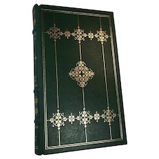 Sherwood Anderson Winesburg Ohio Leather Bound Franklin Library Book