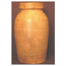 Primitive Wax Seal Fruit Jar