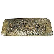 Bass Pin Tray Chariot and Horses