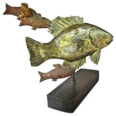 Bass Fish Sculpture O V Shaffer MCM