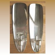 Pair of Wall Sconce Candleholders Art Deco - WMF