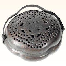 Handcrafted Chinese Brass  Incense Burner Censer