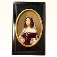 19C Russian Card Case Carnet de Bal