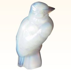 Amazing French Art Deco Bird Figurine Sabino Art Glass ca. 1925/30