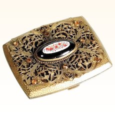Delightful Case Micro Mosaic Medallion Paste Stones