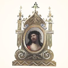 Delightful Altar Night Table Altar Porcelaine Plaque