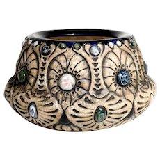 Shapely Pottery Vase Gres-Bijou Model Manufactory Amphora ca. 1920