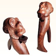 Excellent Hand Carved Nutcracker Monkey Black Forest ca. 1900