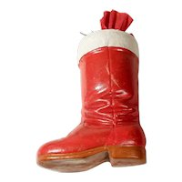Nice Candy Container Boot Shape Christmas