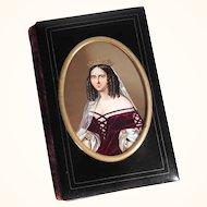 19th Century Card Case Carnet de Bal – Grand Duchesse Anna Pavlovna