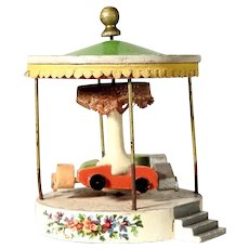Miniature Carousel for a Doll House  Open-Top Cars Cabriolets