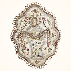 Old Convent Work Reliquary Baby Jesus