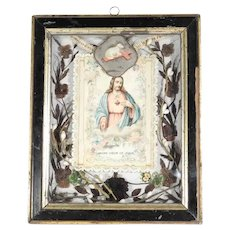 Convent Work Reliquary Jesus Sacred Heart Divine Mercy Lamb of God