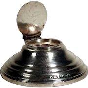 Capstan Silver Inkwell Samuel Levi