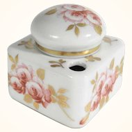 Charming China Porcelain Ink Well Limoges