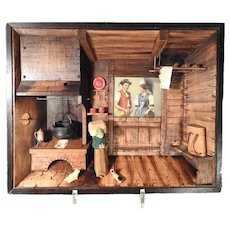 Lovely Farmhouse Parlor Diorama