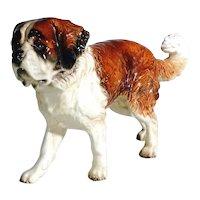 Saint Bernard Dog Porcelain Figurine Manufactory Goebel Germany