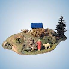 Nice Doll House Diorama Doll Village