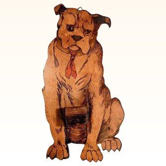 Lovely Doll House Decoration Dog Boxer