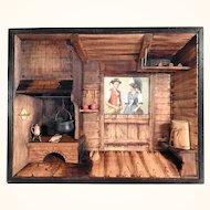 Lovely Farmhouse Parlor Diorama