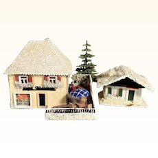 Pastry Shop for Doll Village Putz Houses