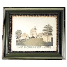 Fantastic Silk Embroidery Pilgrimage Basilica Mary Help Convent Work