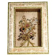 Lovely Convent Work Altar Bouquet Show Case