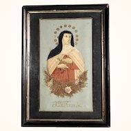 Reliquary Saint Theresa of Avila German Devotional Object